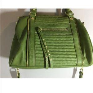 Steven by Steve Madden leather purse GREEN,